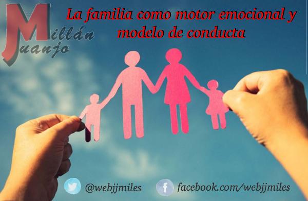 La familia como motor emocional y modelo conductual